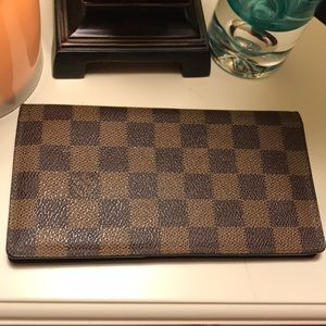 💕💖 Authentic LV Damier Men's Wallet Bi-Fold